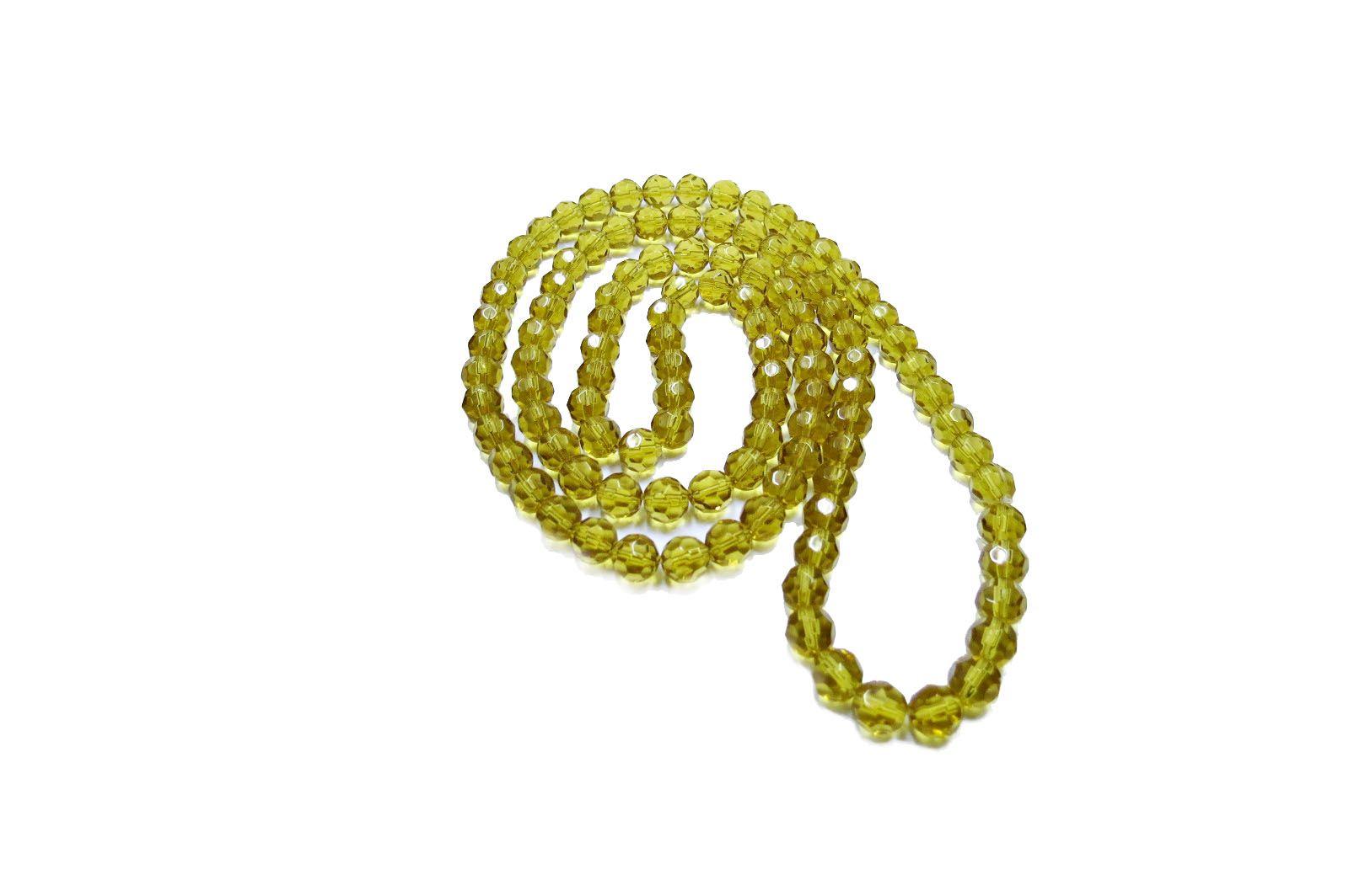 Dourado Claro Redondo (10 mm)