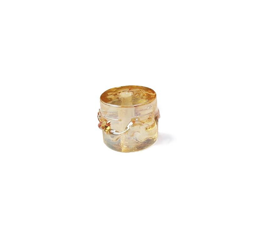 Dourado Perolado Transparente
