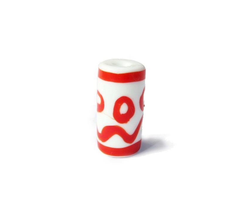 Especial Firma 001 - Murano Branco/Vermelho (G)