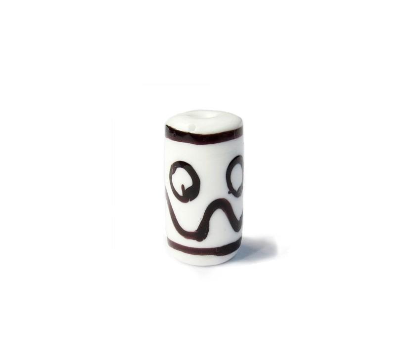 Especial Firma 002 - Murano Branco/Preto (G)