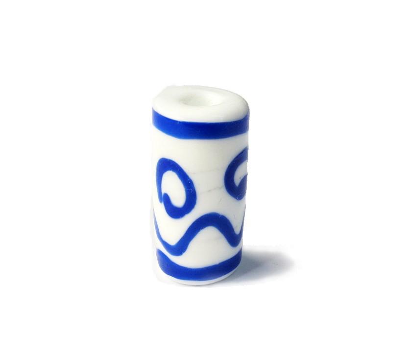 Especial Firma 008 - Murano Branco/Azul Royal (G)