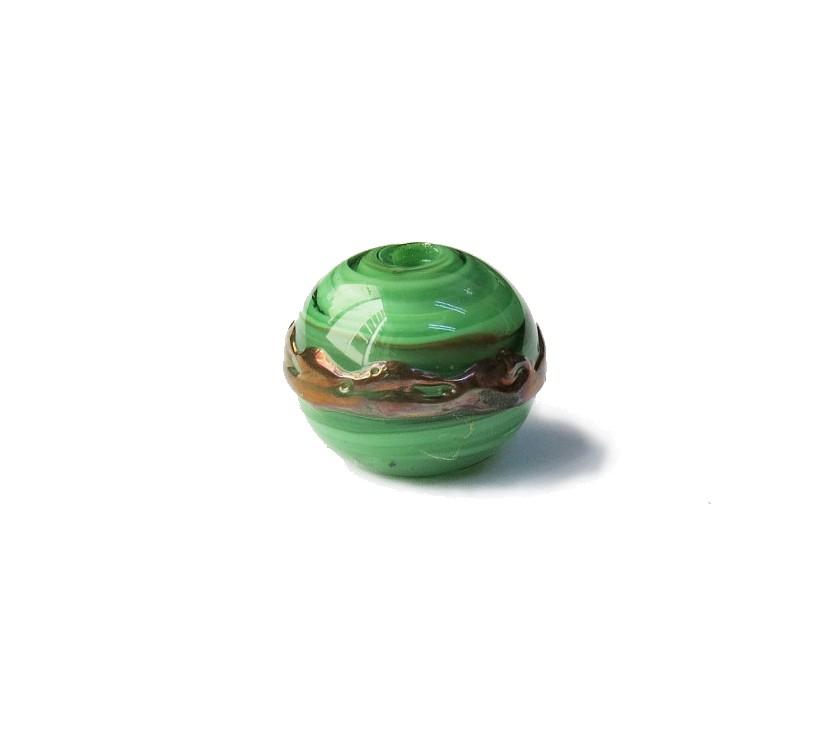 Especial Firma 021 - Esfera Verde Claro/Cobre (G)