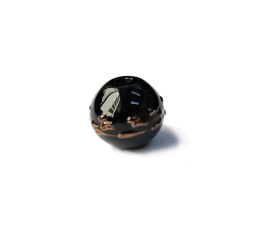 Especial Firma 028 - Esfera Preto/Cobre (G)