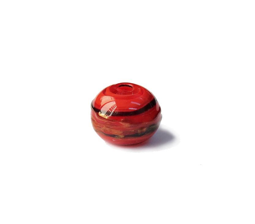 Especial Firma 030 - Esfera Vermelho/Preto/Cobre (G)