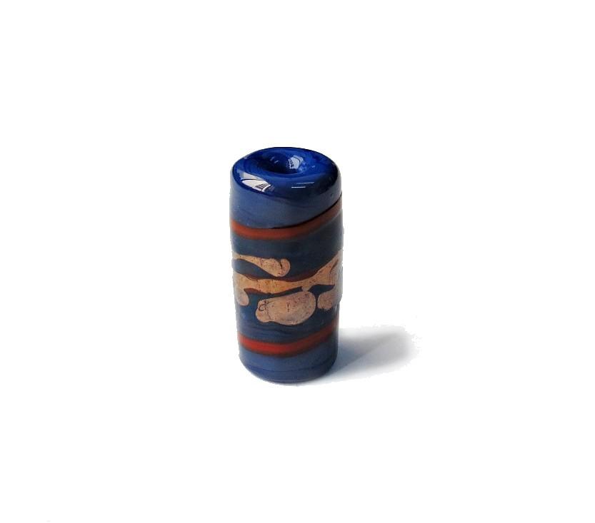 Especial Firma 035 - Murano Azul/Vermelho/Cobre (G)