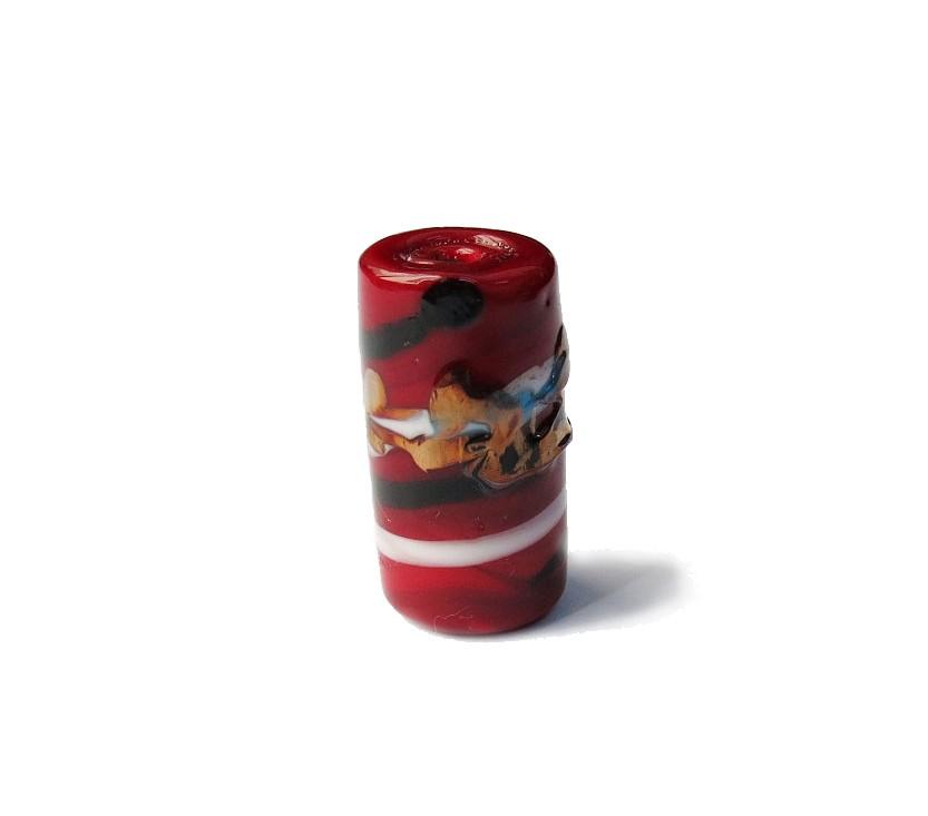 Especial Firma 041 - Murano Vermelho/Branco/Preto/Cobre (G)