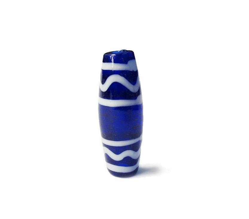 Especial Firma 056 - Azeitona Azul Royal Transparente/Branco (G)