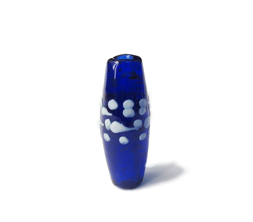 Especial Firma 091 - Azeitona Azul Royal Transparente/Branco (G)