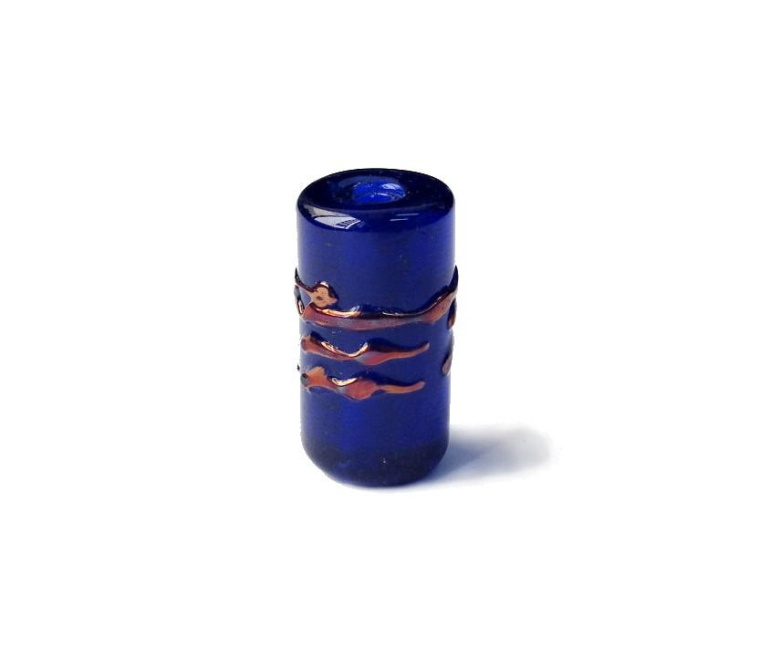 Especial Firma 104 - Murano Azul Royal Transparente/Cobre (G)