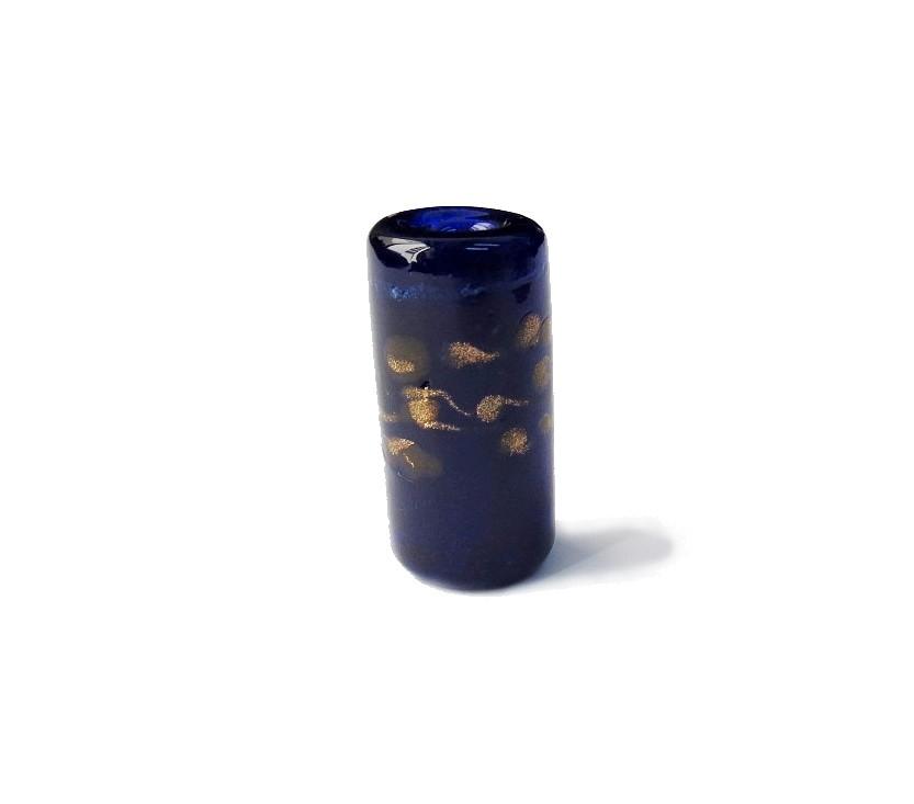 Especial Firma 105 - Murano Azul Royal Transparente/Dourado (G)