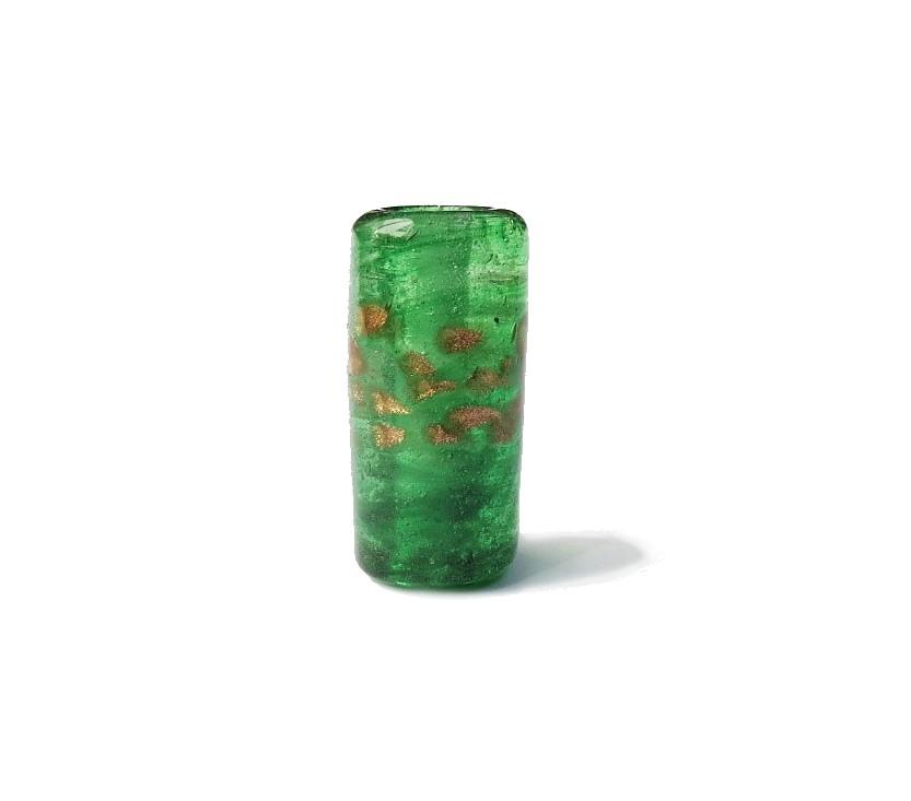 Especial Firma 108 - Murano Verde Transparente/Dourado (G)