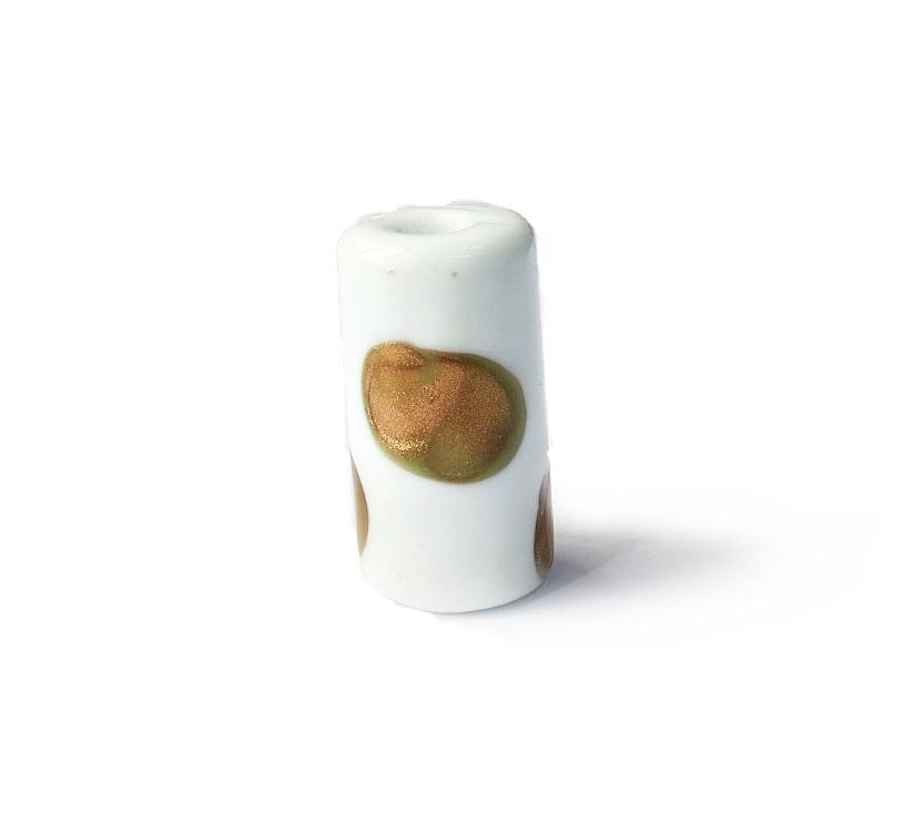 Especial Firma 129 - Murano Branco/Dourado (G)