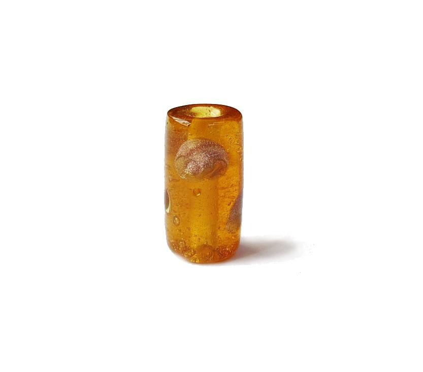 Especial Firma 133 - Murano Caramelo Transparente/Dourado (G)