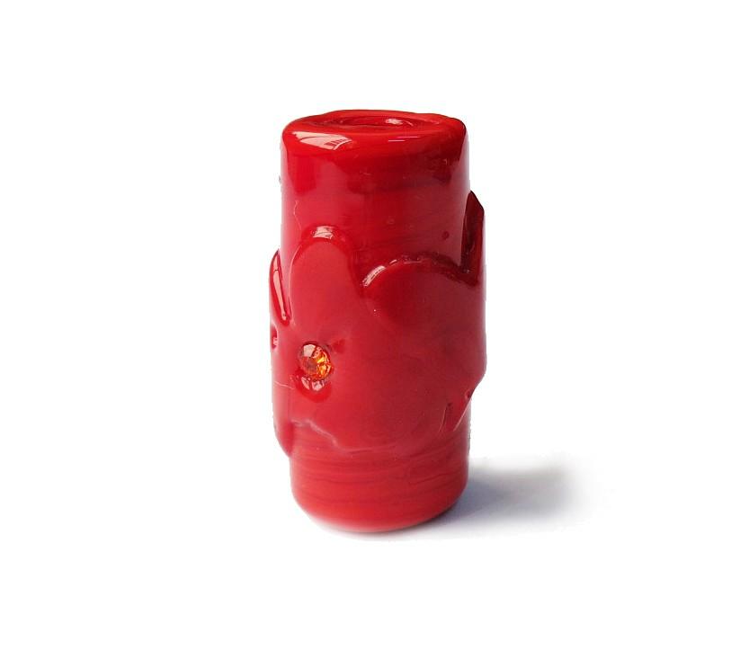 Especial Firma 143 - Murano Strass Vermelho (G)