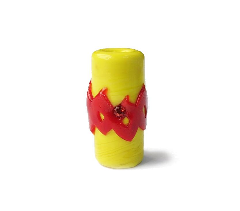 Especial Firma 149 - Murano Strass Amarelo/Vermelho (G)
