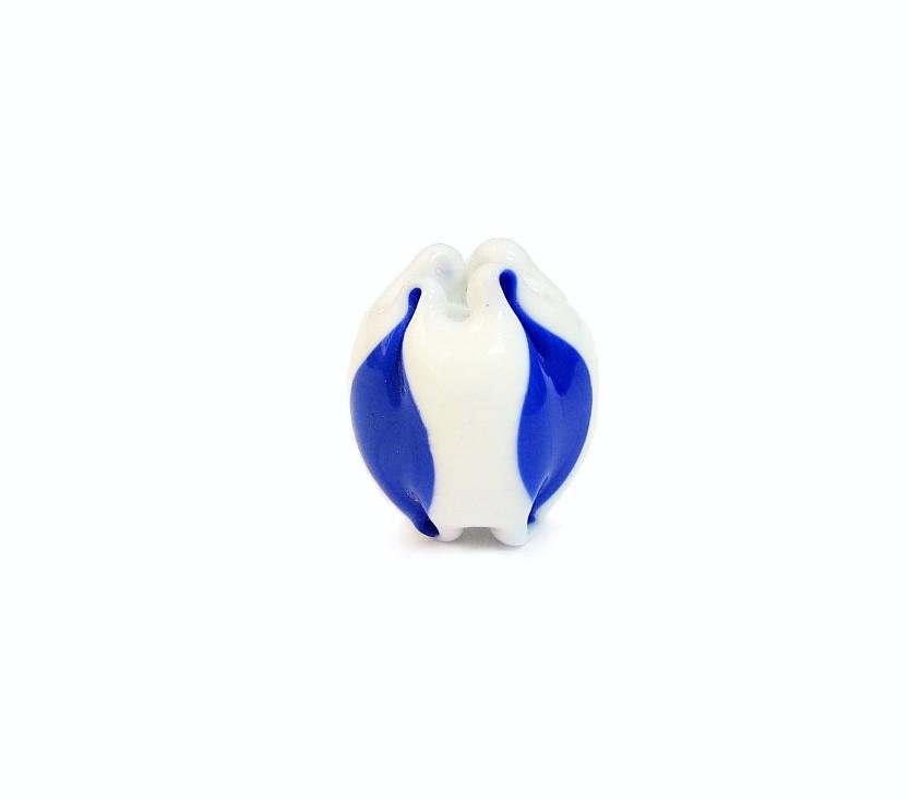Especial Firma 156 - Tulipa Branca/Azul Royal (G)