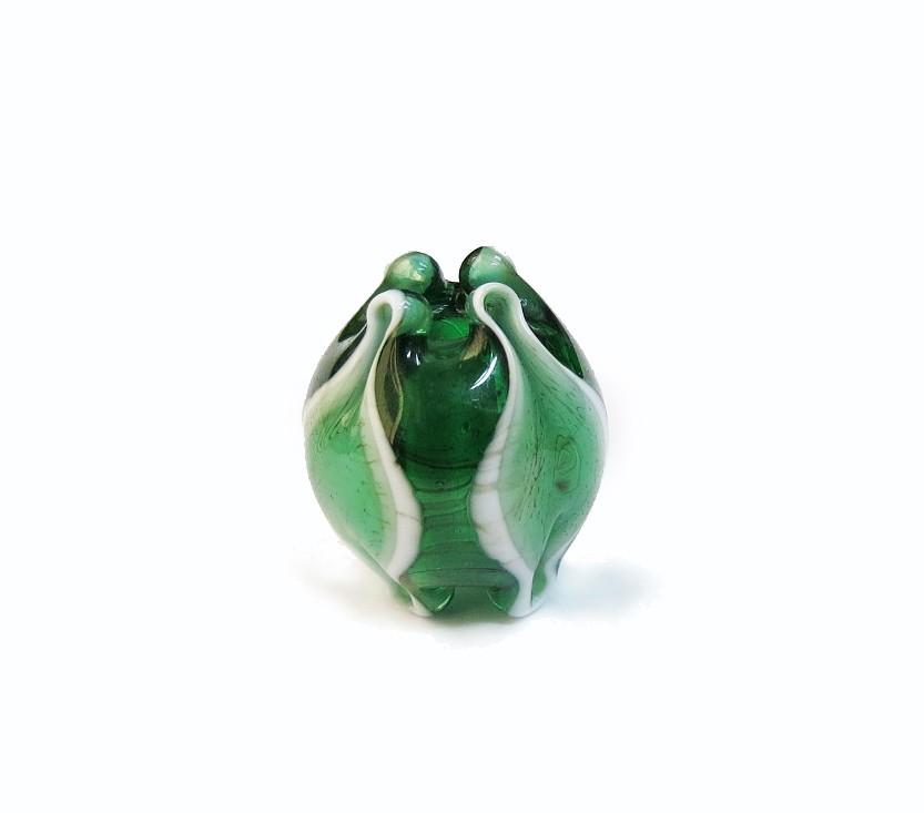 Especial Firma 170 - Tulipa Verde Transparente/Branco (G)