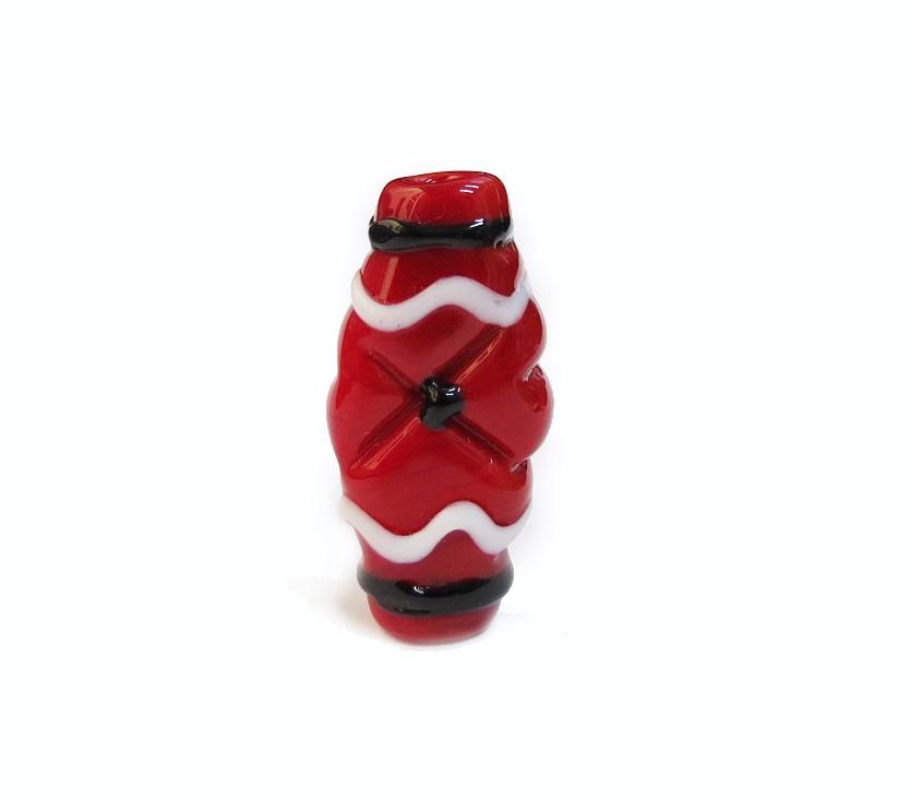 Especial Firma 185 - Murano Achatado Vermelho/Preto/Branco