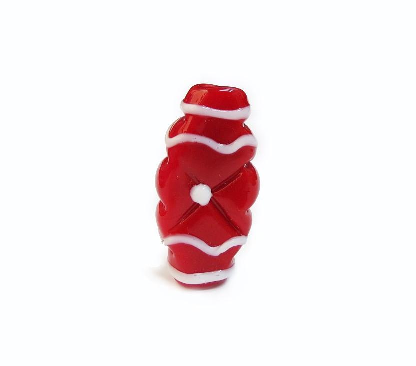 Especial Firma 189 - Murano Achatado Vermelho/Branco