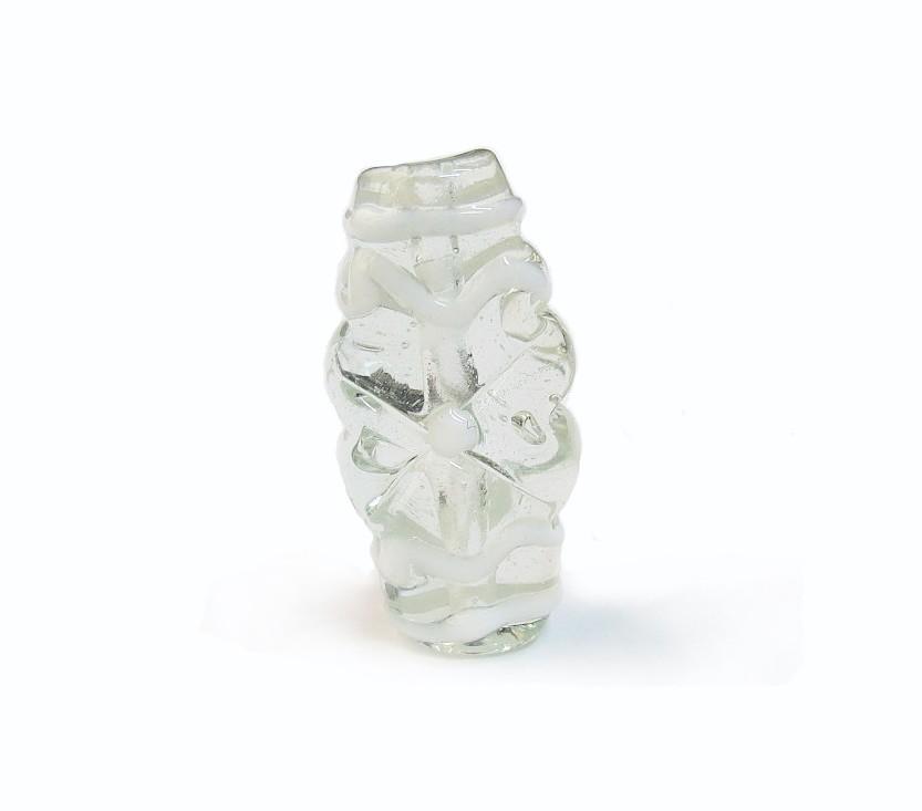 Especial Firma 191 - Murano Achatado Transparente/Branco