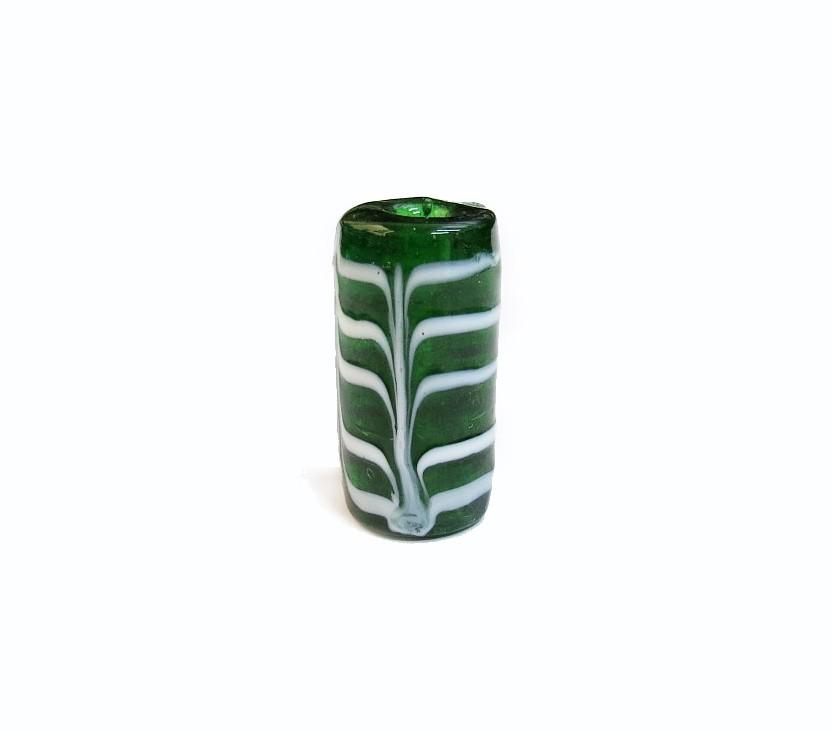 Especial Firma 192 - Murano Verde Transparente/Branco