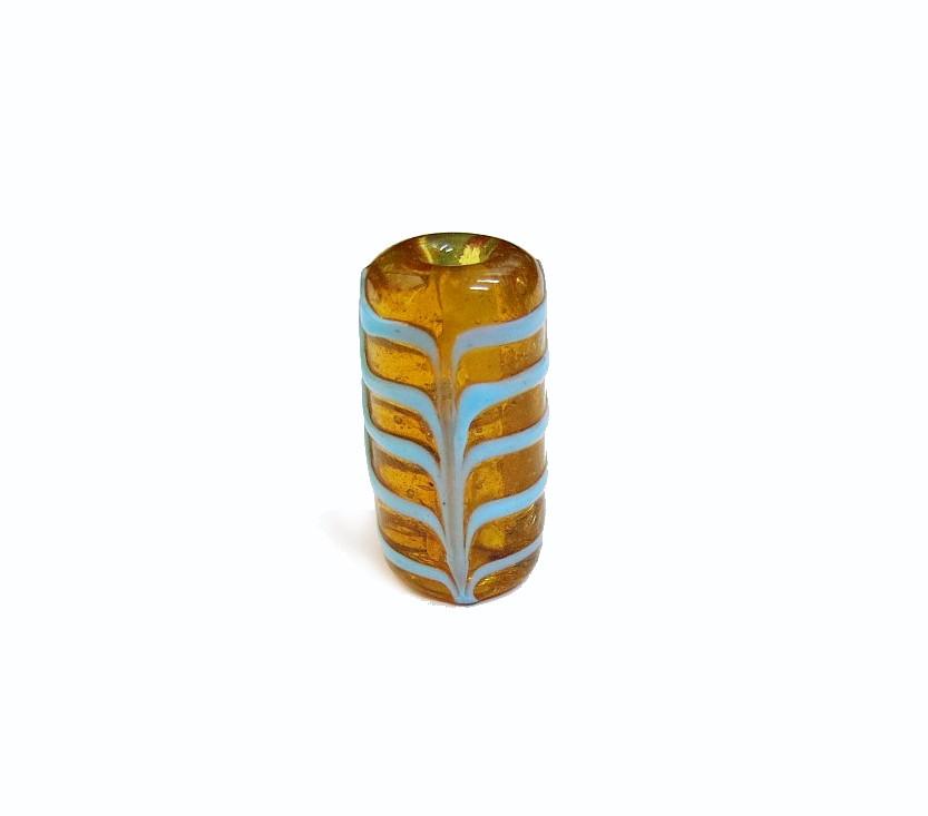 Especial Firma 193 - Murano Caramelo Transparente/Turquesa