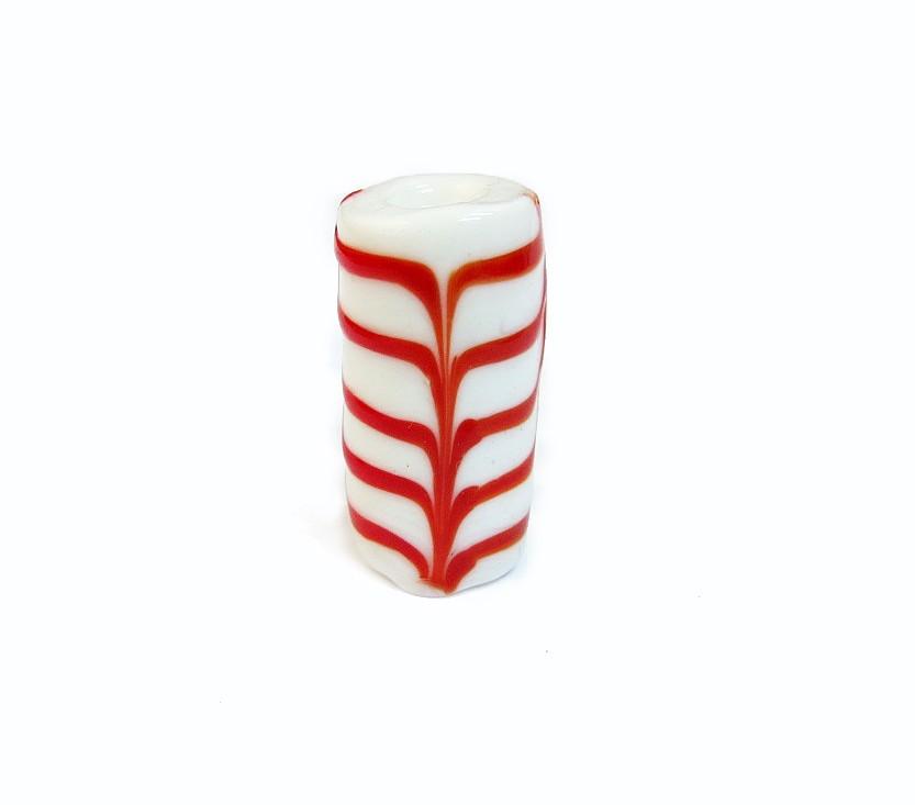 Especial Firma 197 - Murano Branco/Vermelho