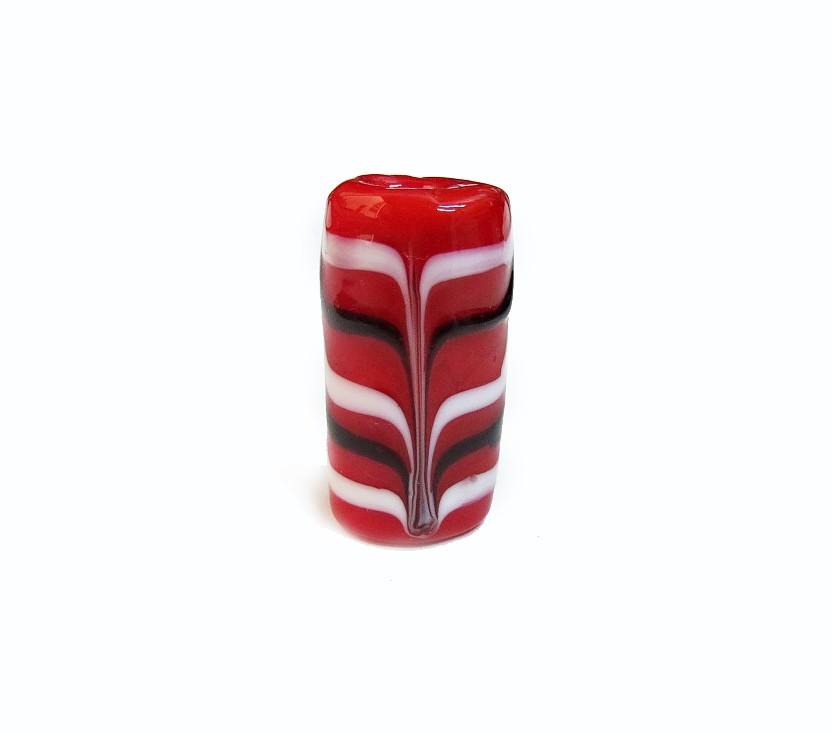 Especial Firma 200 - Murano Vermelho/Branco/Preto