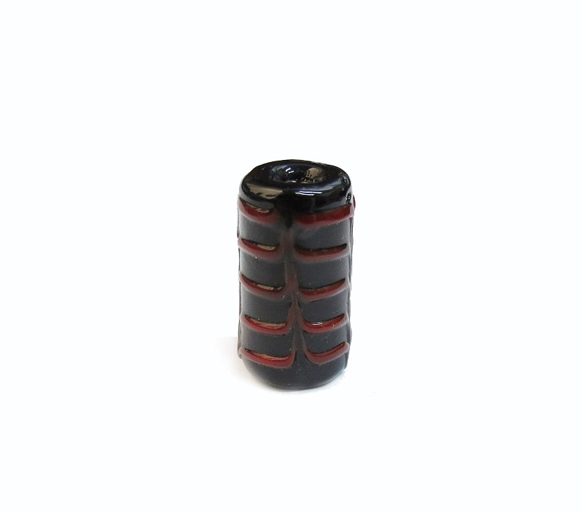 Especial Firma 201 - Murano Preto/Vermelho