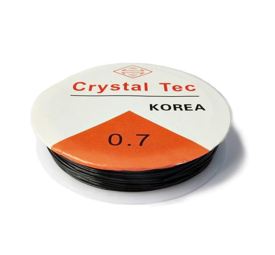 Fio de Silicone Preto - 0,7mm