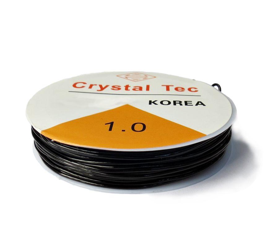 Fio de Silicone Preto - 1,0mm