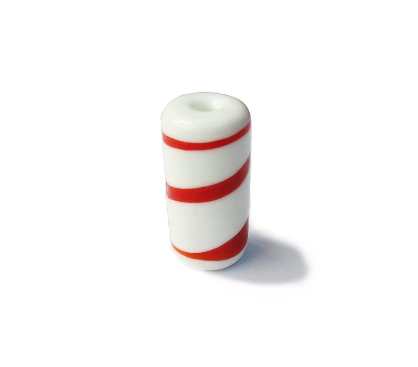 Firma 006 - Murano Branco/Vermelho (G)