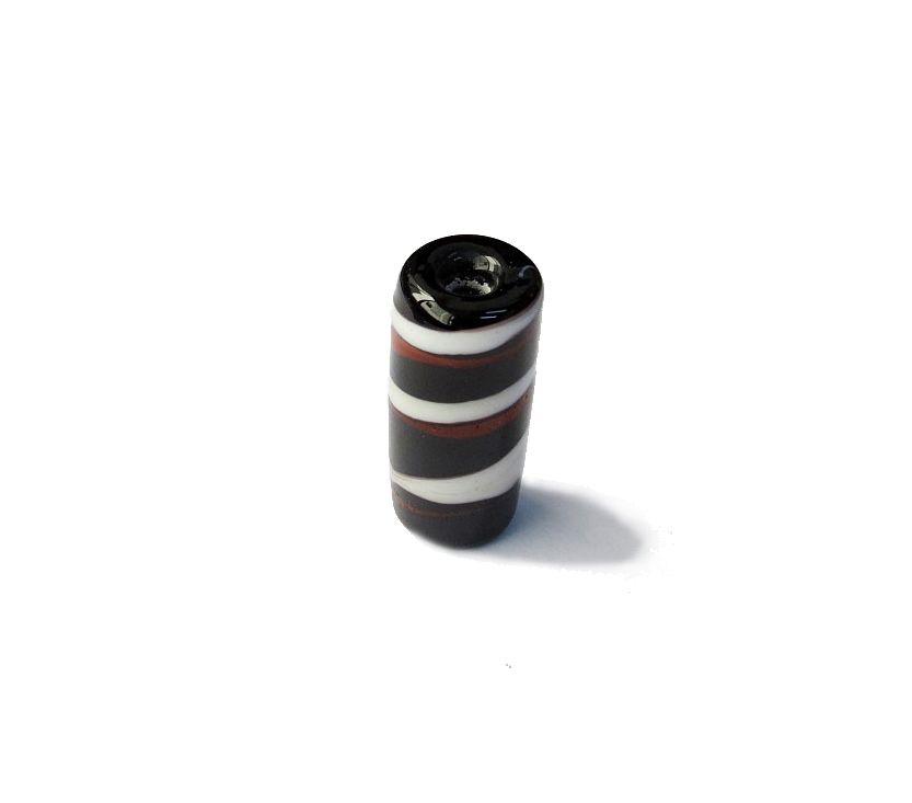Firma 011 - Murano Preto/Branco/Vermelho (G)
