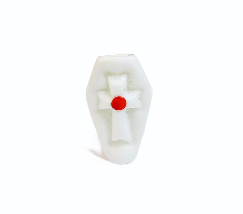 Firma 013 - Murano Caixão Branco/Vermelho