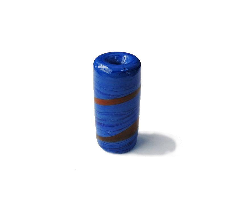 Firma 019 - Murano Azul Royal/Vermelho (G)