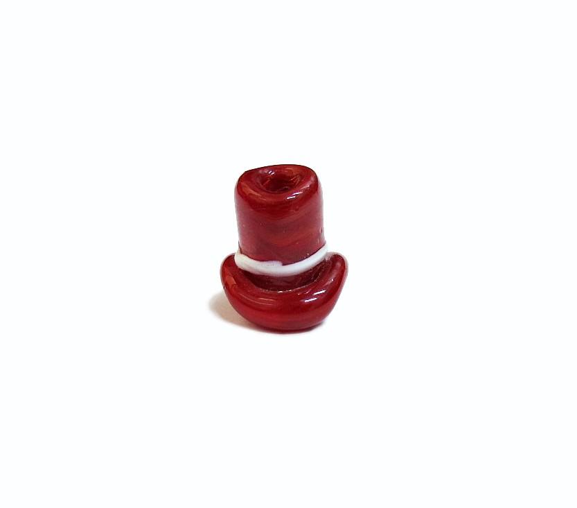 Firma 027 - Murano Cartola Vermelho Escuro/Branco Zé Pilintra