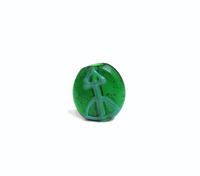 Firma 035 - Murano Circular Verde Transparente/Ofá Verde