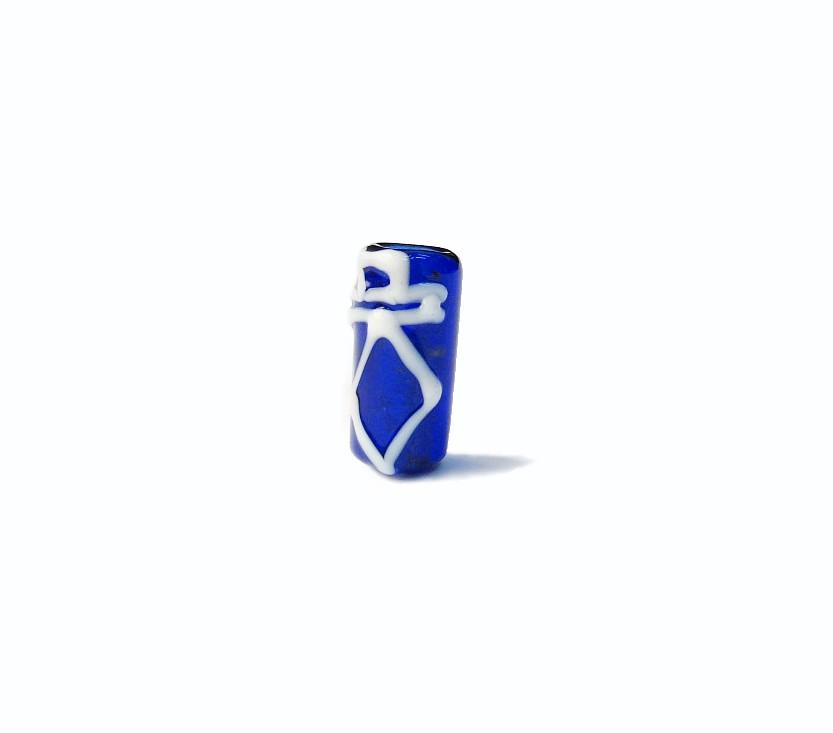 Firma 049 - Murano Azul Royal Transparente/Espada Branca