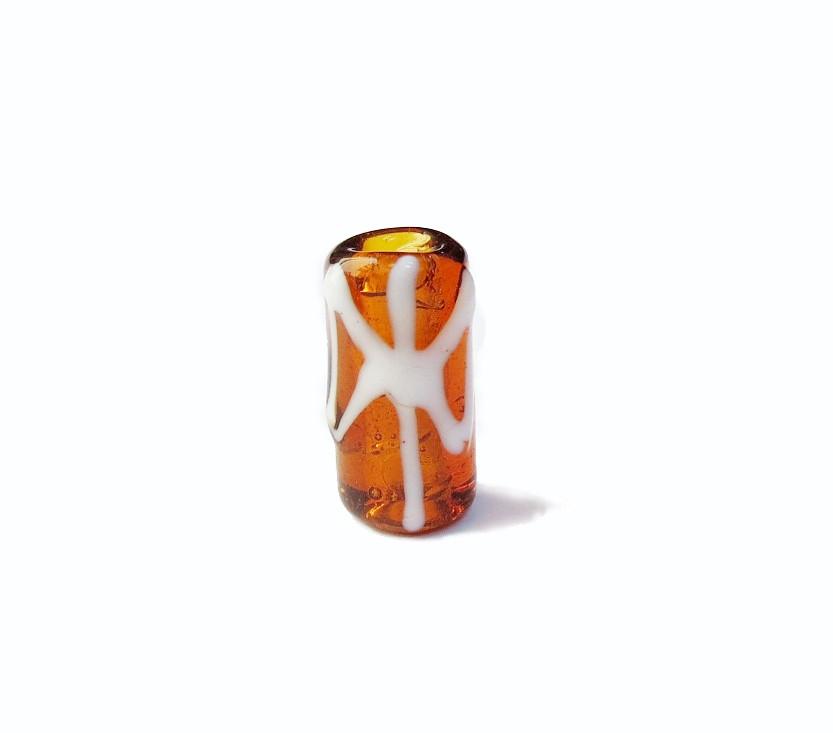 Firma 055 - Murano Caramelo Transparente/Oxê Branco