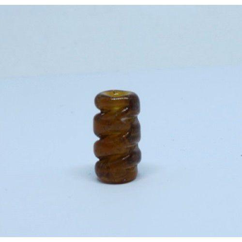 Firma 057 - Murano Caramelo Torcido Transparente (M)