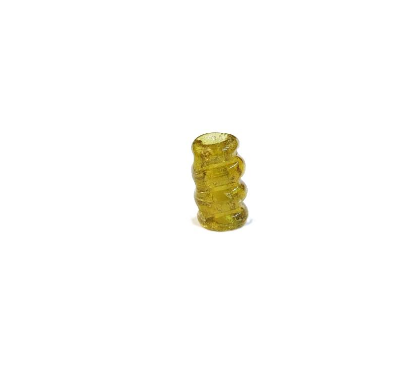 Firma 058 - Murano Torcido Amarelo Transparente (G)