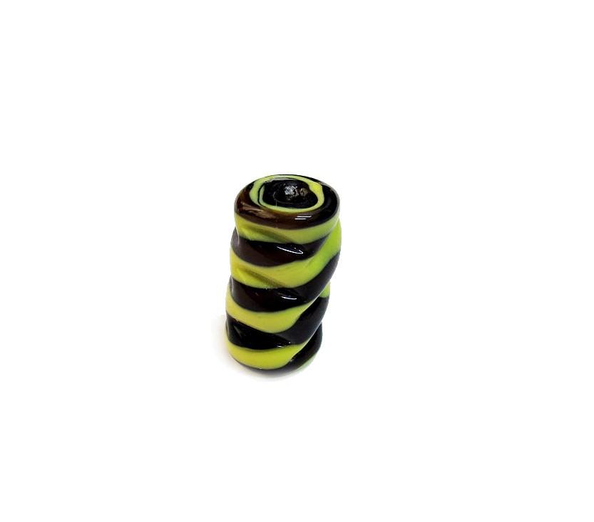 Firma 059 - Murano Preto/Amarelo Torcido (M)