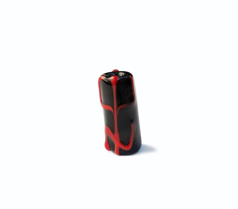 Firma 059 - Murano Preto/Tridente Vermelho Pomba Gira