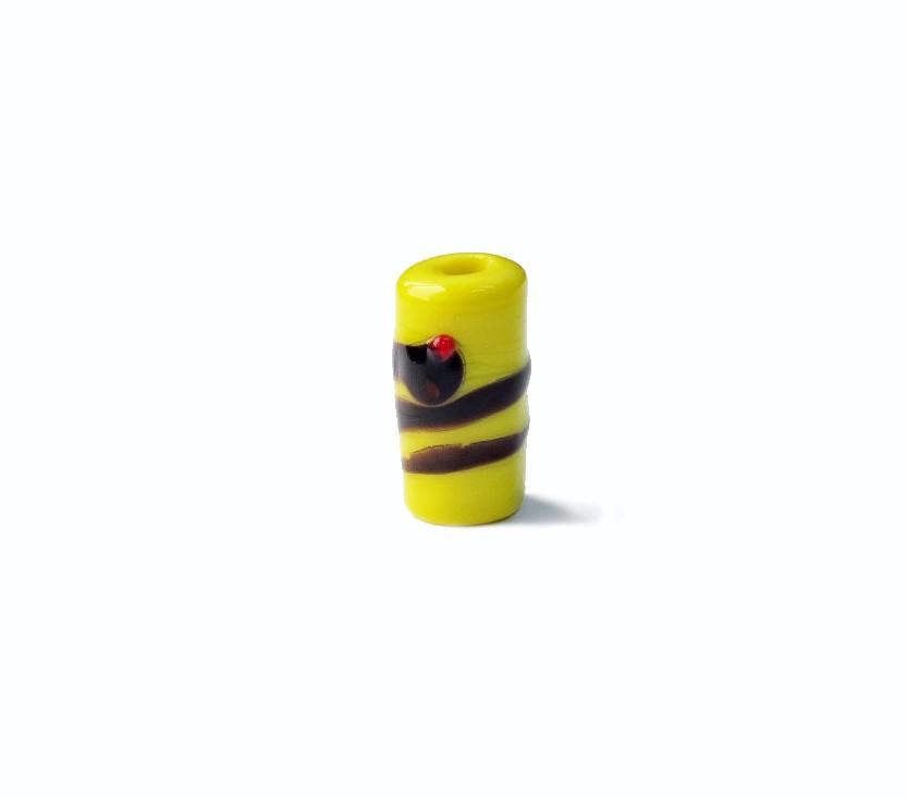 Firma 065 - Murano Amarelo/Cobra Preta Oxumaré