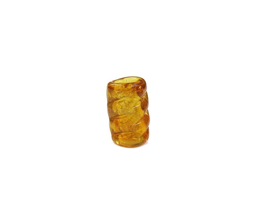 Firma 066 - Murano Torcido Caramelo Transparente (G)