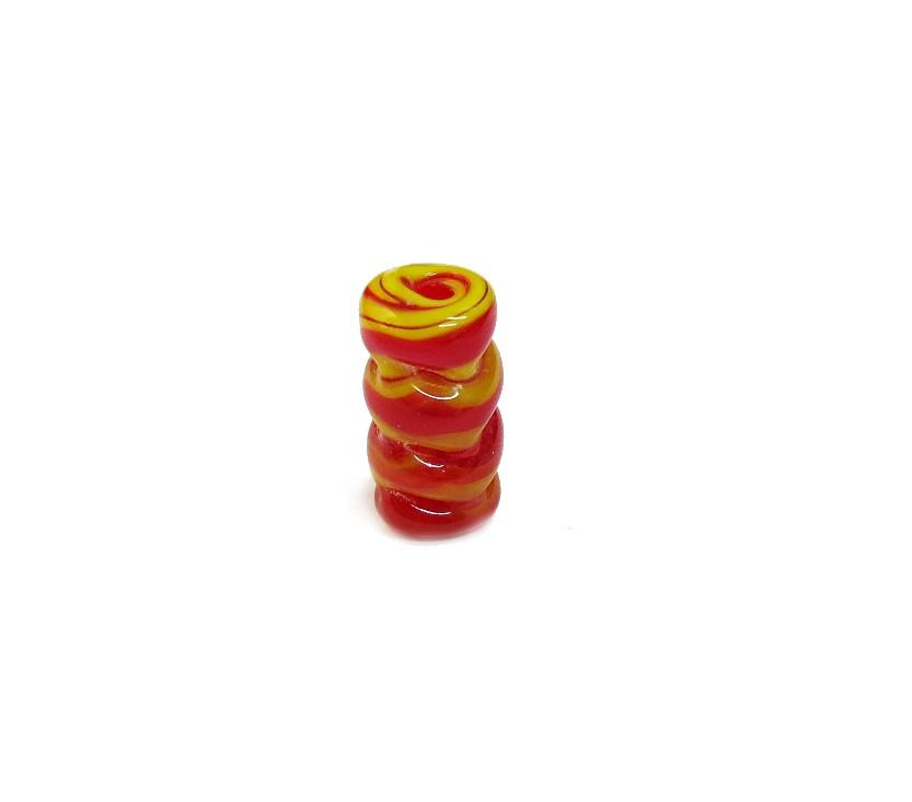 Firma 066 - Murano Vermelho/Amarelo Torcido (M)