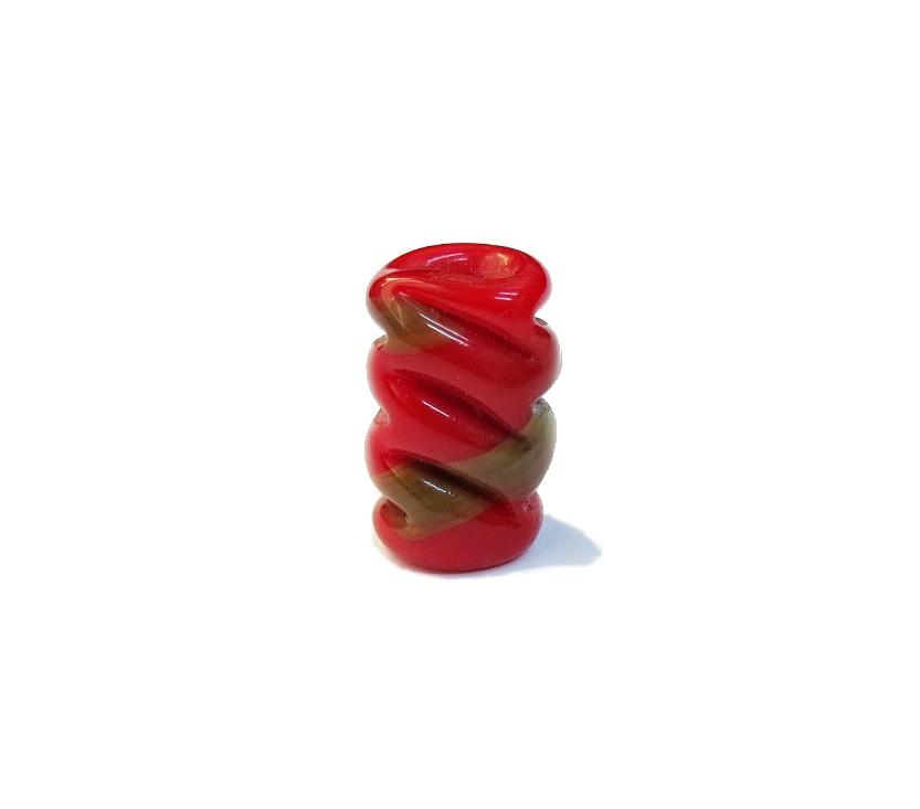 Firma 077 - Murano Torcido Vermelho/Caramelo (G)