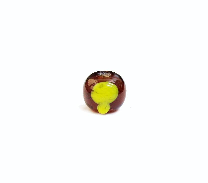 Firma 078 - Murano Bola Caramelo/Abebé Amarelo
