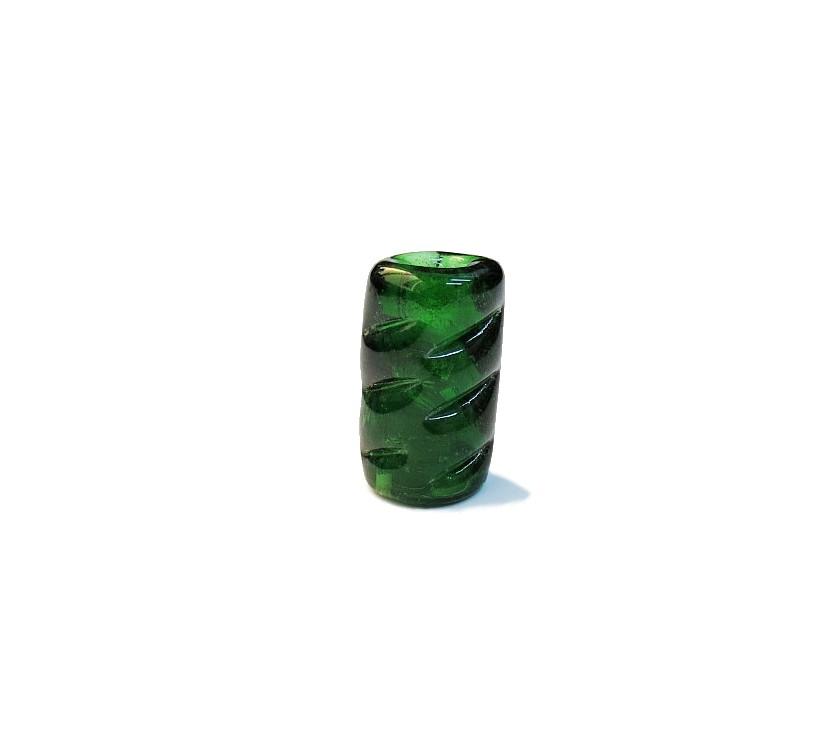 Firma 080 - Murano Torcido Verde Transparente (G)