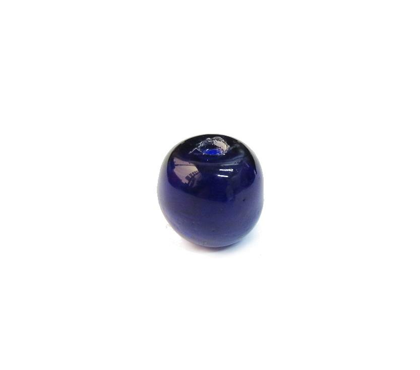 Firma 099 - Murano Bola Azul Royal Transparente (G)